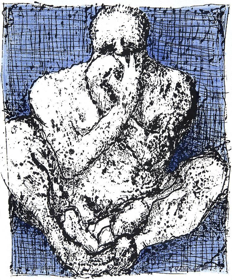 Despair Sad Drawing - Despair by Vincent Randlett III