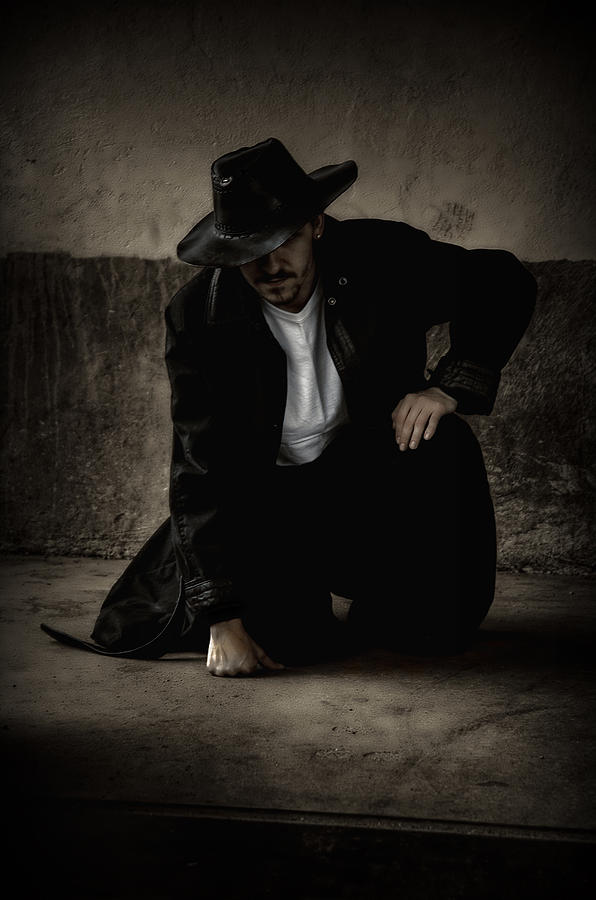 Man Photograph - Desperado by Heather  Rivet