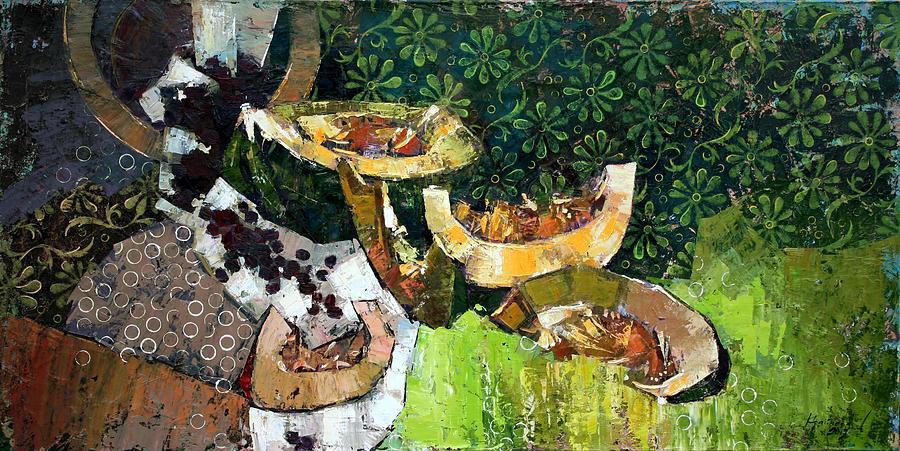 Oil On Canvas Painting - Dessert. by Anastasija Kraineva