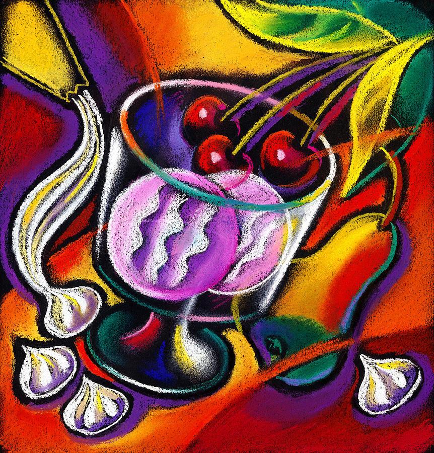 Dessert Painting by Leon Zernitsky