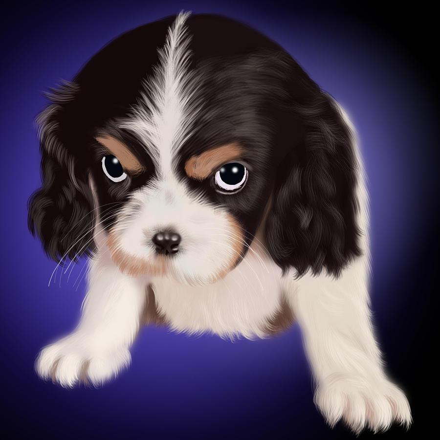 Dog Digital Art - Destroyer by Roman Zaric