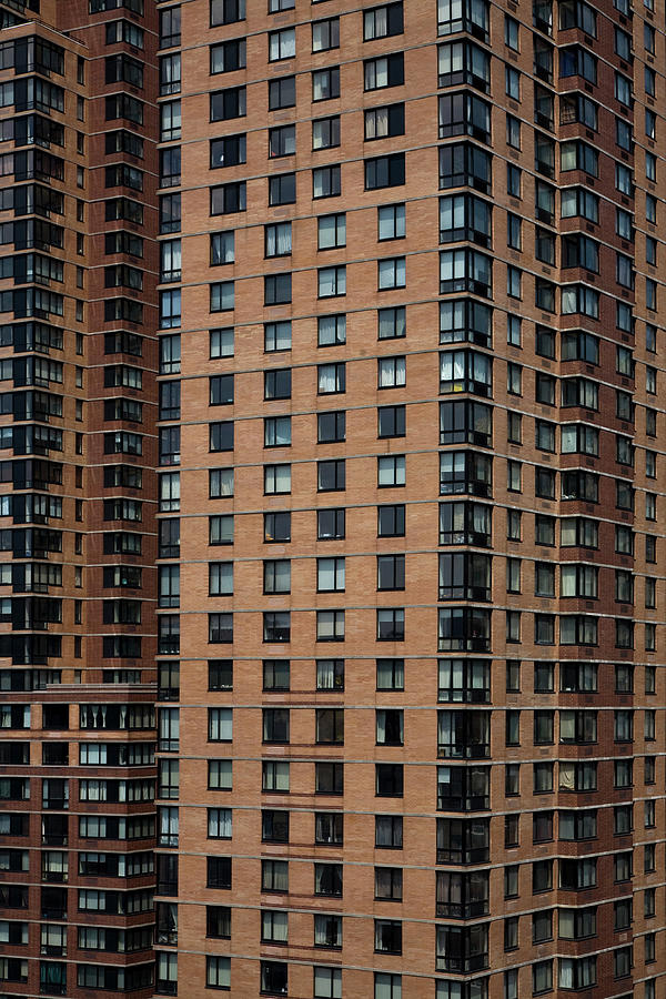 Detail Of High Rise-buildings, Manhattan, New York City, Usa Photograph by Frederick Bass
