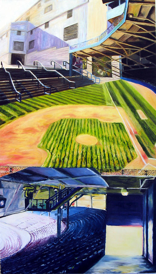 Detriot Painting - Detriot Industry by Chris Ripley