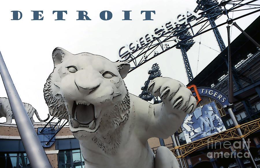 Detroit Photograph - Detroit Tigers I by Linda  Parker