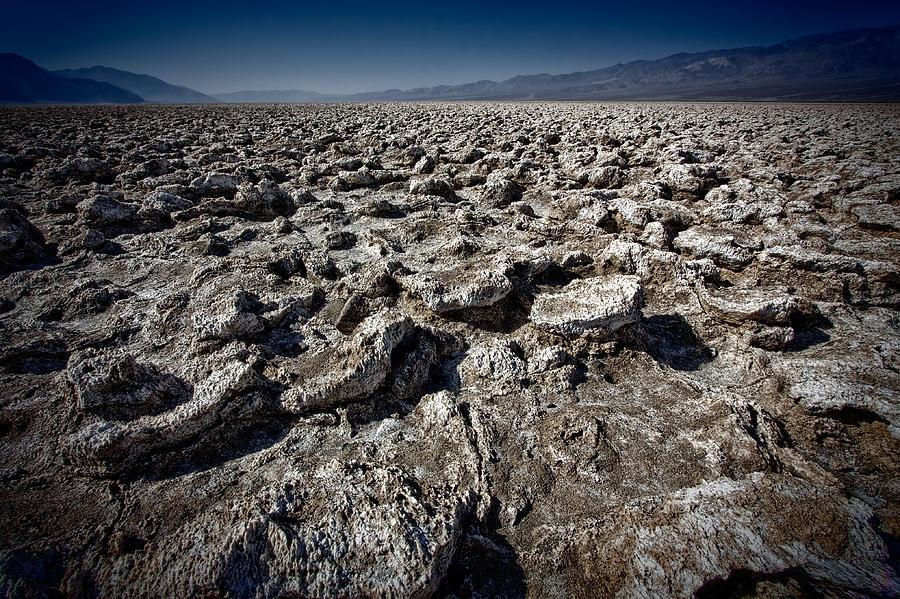 Death Valley Photograph - Devils Golf Course by Matt  Trimble