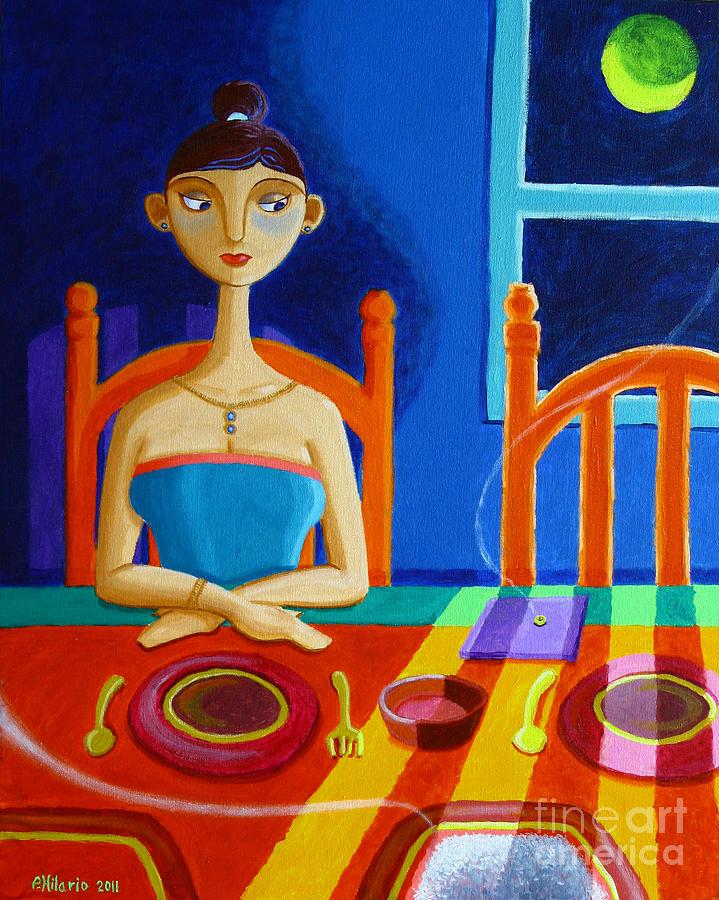 Philippine Painting - di Parang Kaning Mainit by Paul Hilario