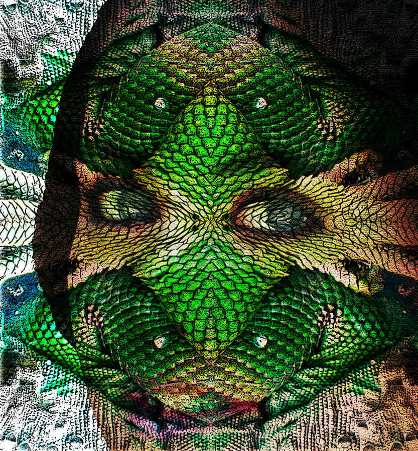 Mask Photograph - Diabolic by Jesus Nicolas Castanon