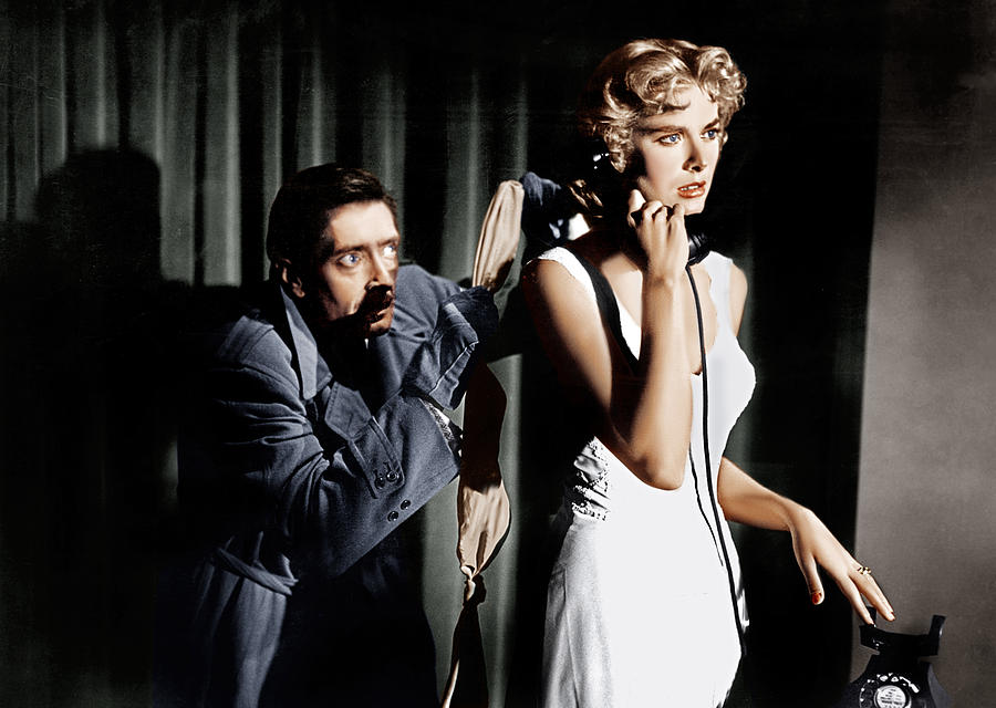 1954 Movies Photograph - Dial M For Murder, From Left Anthony by Everett