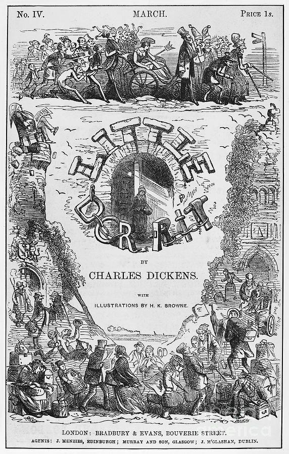 1855 Photograph - Dickens: Little Dorit by Granger