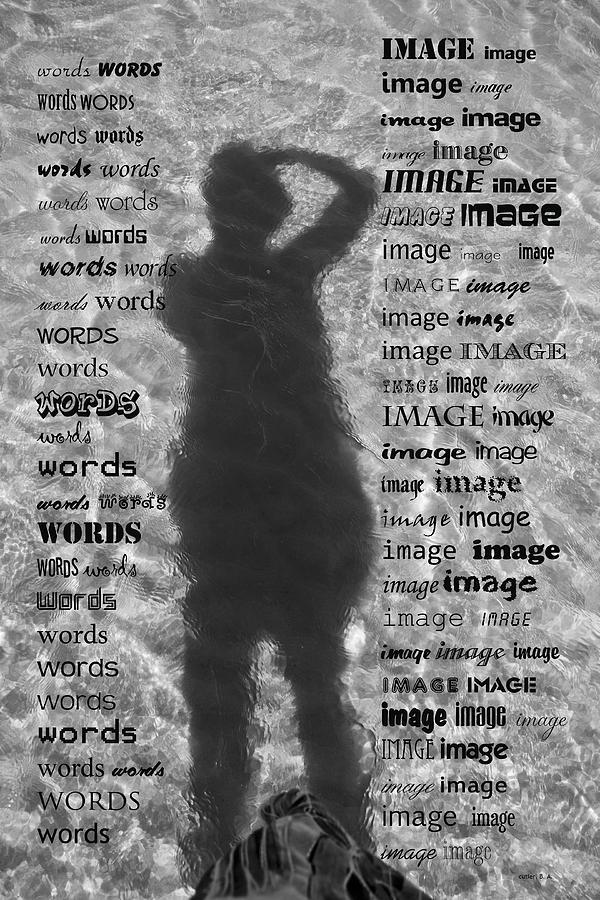 Black Photograph - Diction by Betsy Knapp