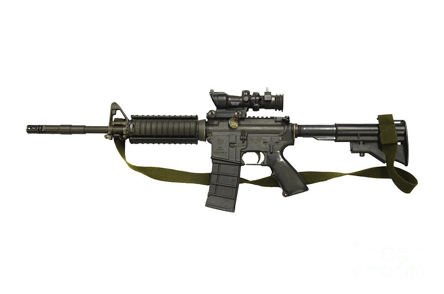 Diemaco C8 Carbine Photograph By Andrew Chittock