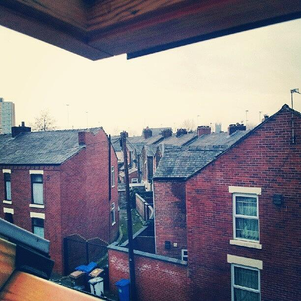 Salford Photograph - Different Angle! #buildings #houses by Abdelrahman Alawwad