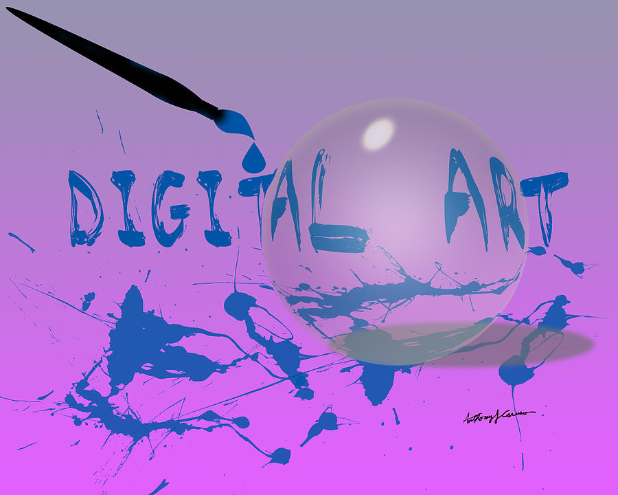 Abstract Digital Art - Digital Art by Anthony Caruso