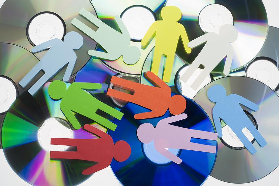 Disk Mixed Media - Digital World Concept by Aleksandr Volkov