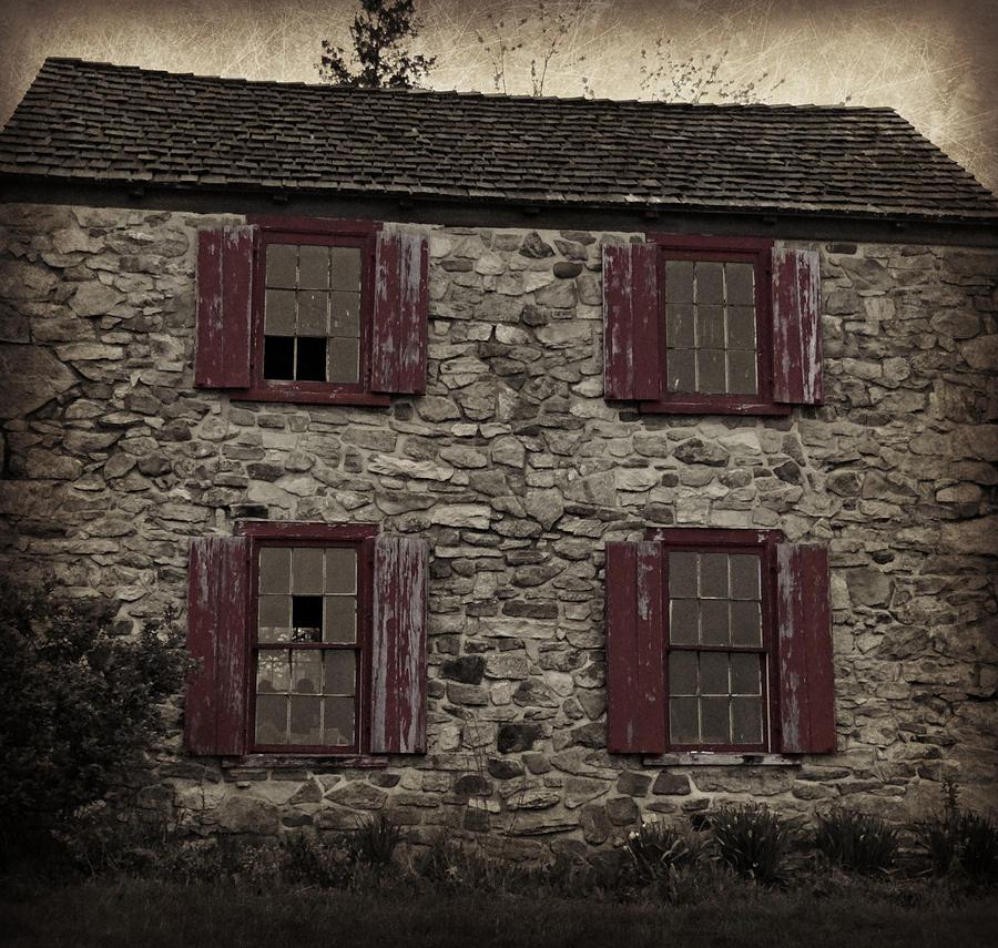 Ruin Photograph - Dilapidated by Brenda Conrad