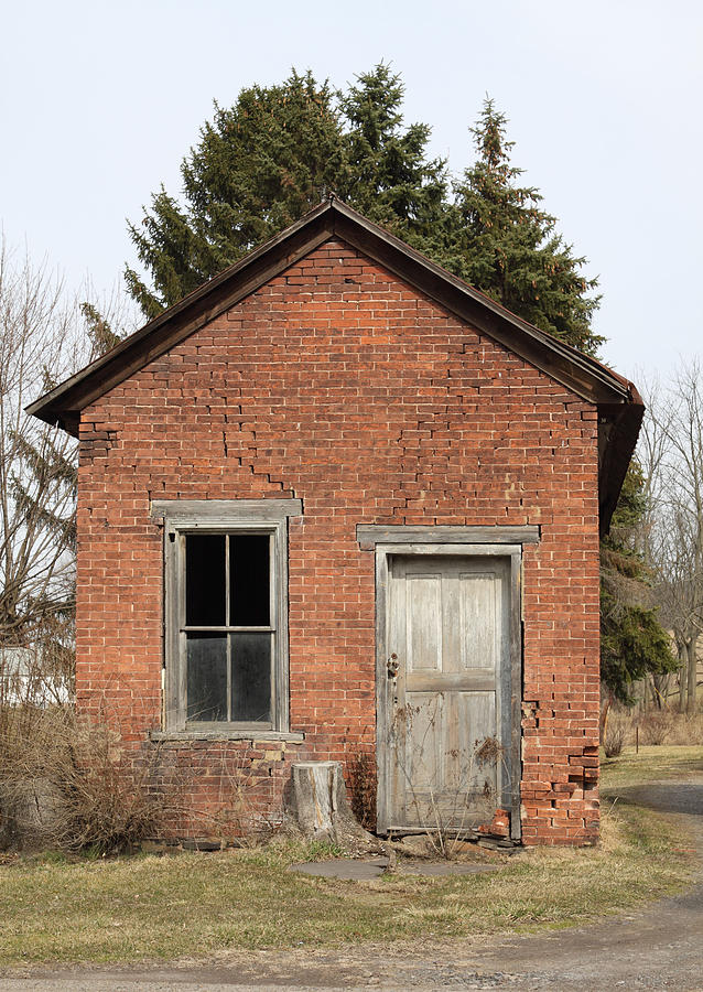 Dilapidated Old Brick Building Photograph By John Stephens