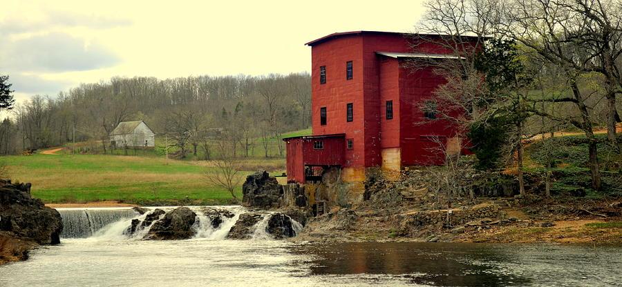 Mill Photograph - Dillard Mill 2 by Marty Koch