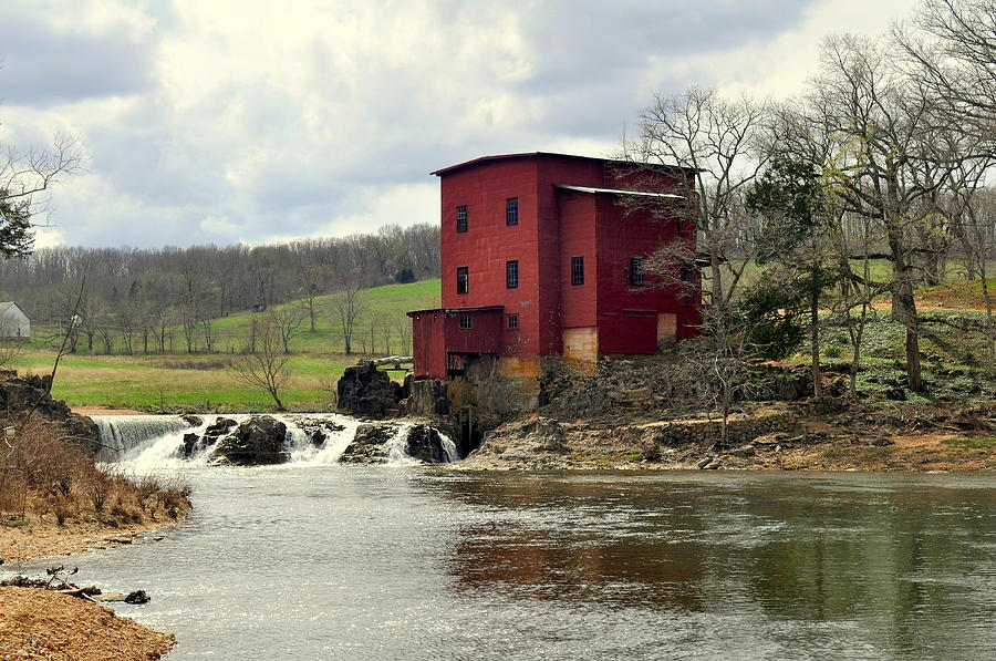 Mill Photograph - Dillard Mill by Marty Koch