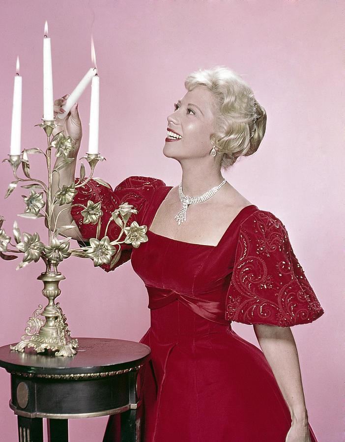 Candles Photograph - Dinah Shore, 1950s by Everett