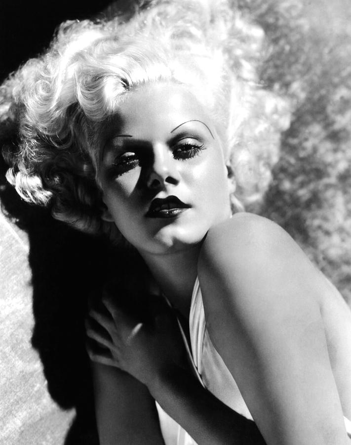 1930s Movies Photograph - Dinner At Eight, Jean Harlow, 1933 by Everett
