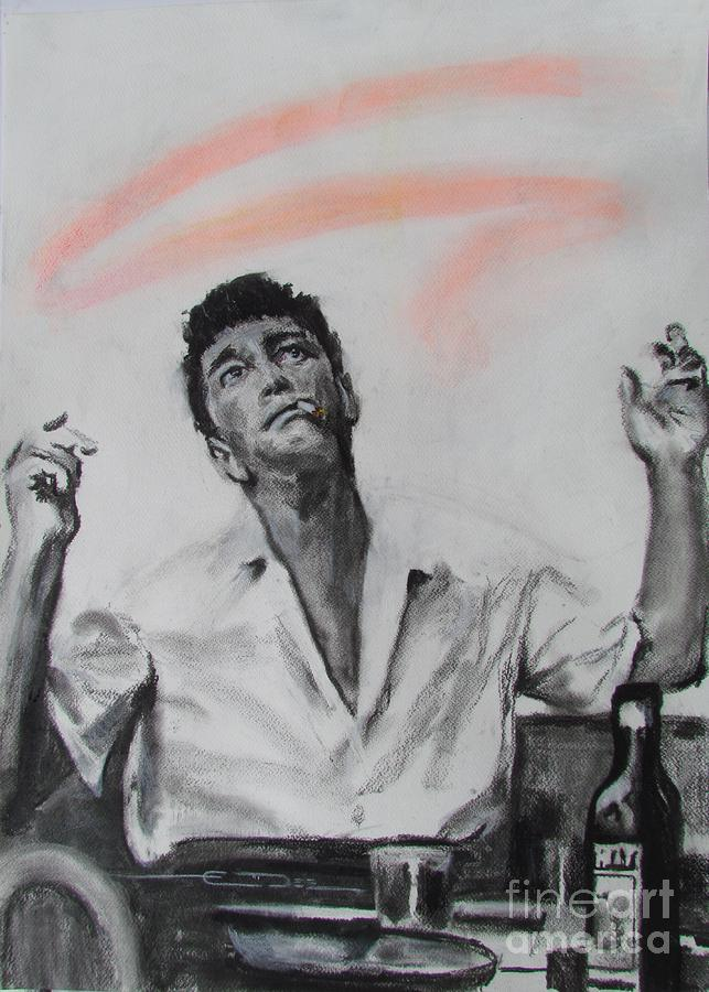 Dean Martin Drawing - Dino - 1961 by Eric Dee