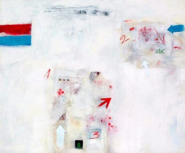 Direcciones Painting by Richard Alexander