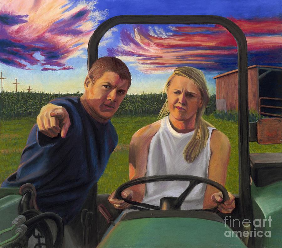 Farm Pastel - Directions by Christian Vandehaar