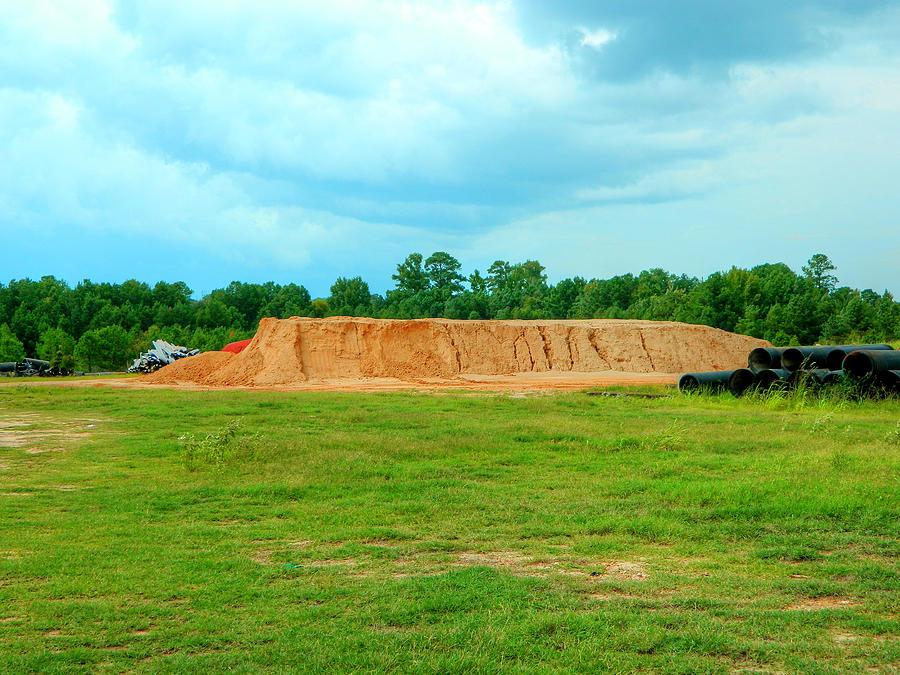 Dirt Photograph - Dirt Hill  by Ester  Rogers