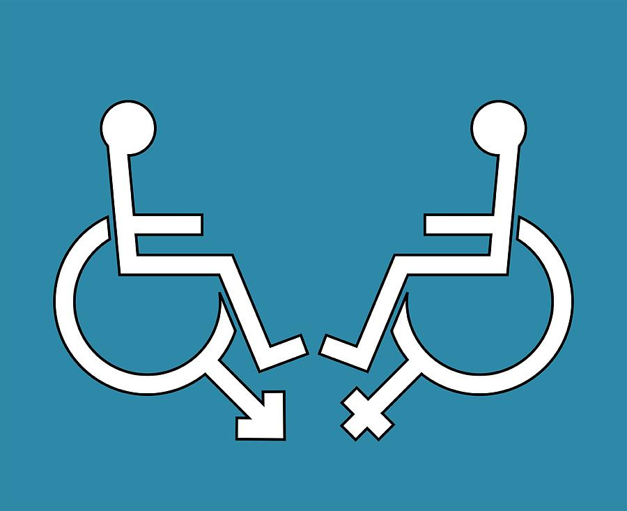 Human Photograph - Disability Sexuality, Conceptual Artwork by Stephen Wood