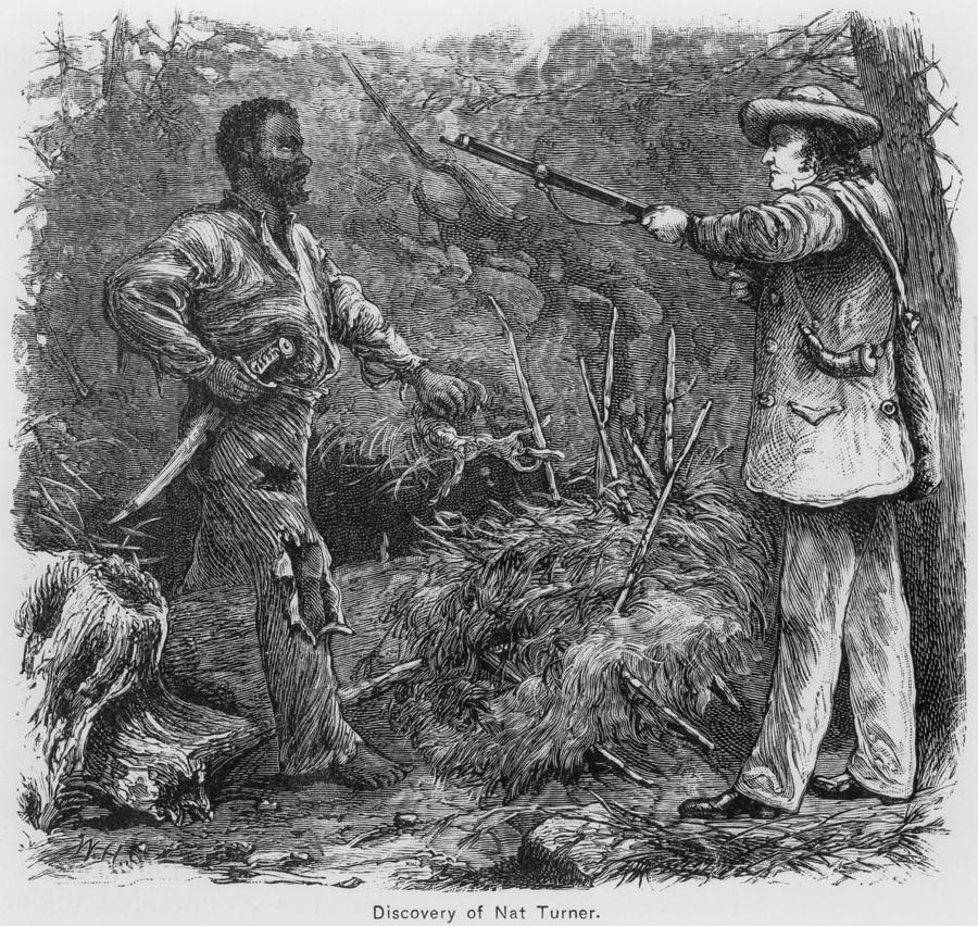 History Photograph - Discovery Of Nat Turner 1800-1831 by Everett