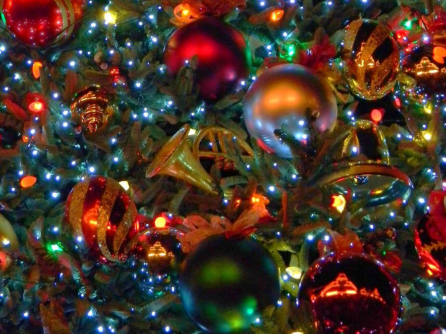 Disney Photograph - Disneyland Christmas Ornaments by Daniel Dodd