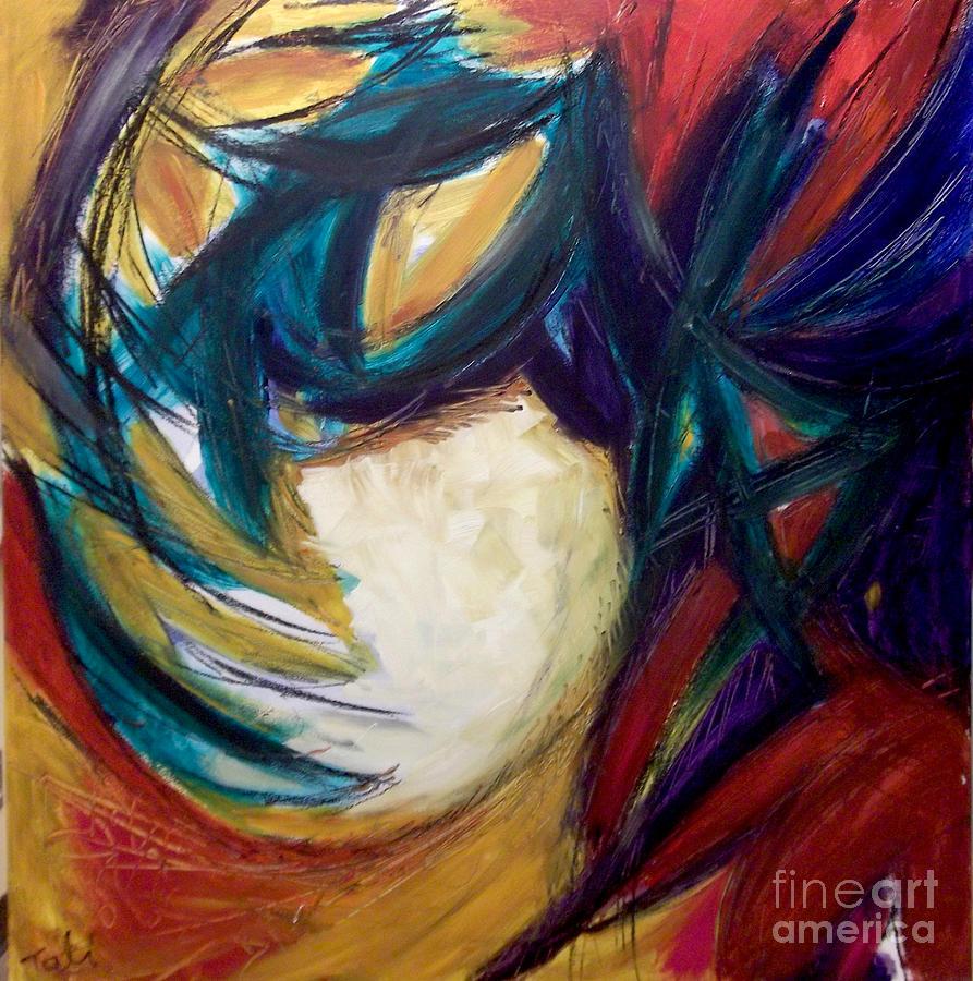Dj Painting - Djessi by Tali Farchi