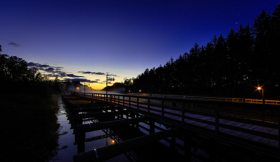 Dock Photograph - Dock At Lock 23 by Everet Regal