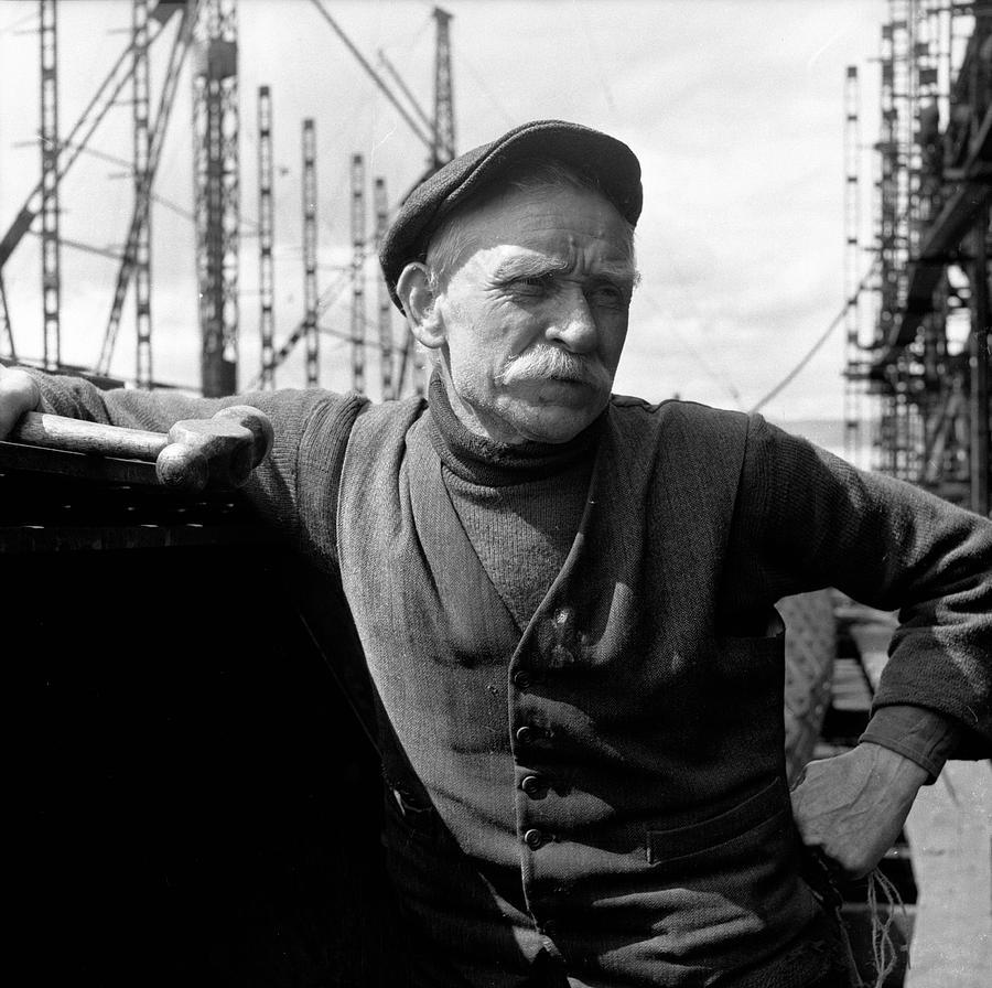 Dock Worker Photograph by Bert Hardy