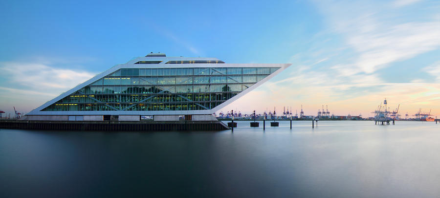 Dockland Photograph - Dockland Evening by Marc Huebner
