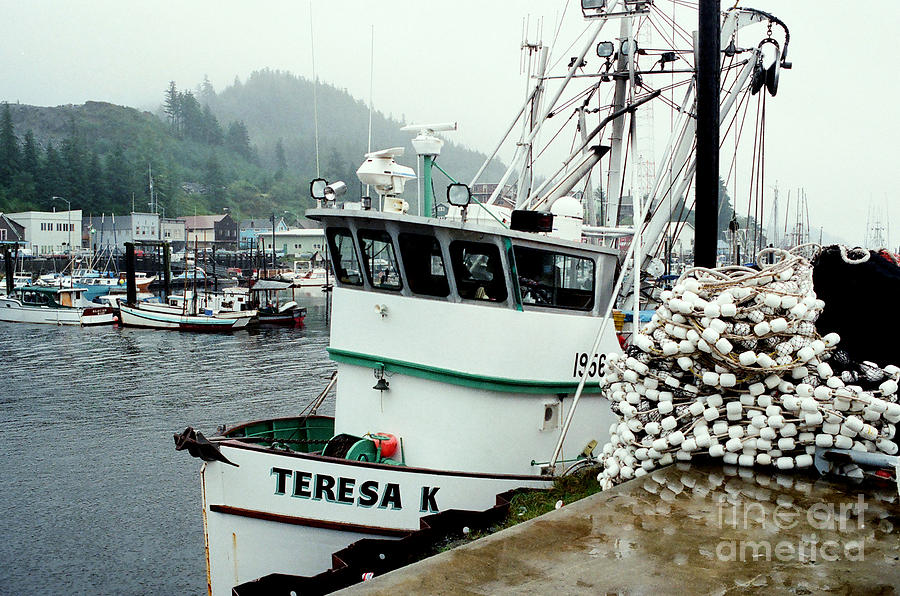 Fishing Photograph - Dockside by Frank Townsley