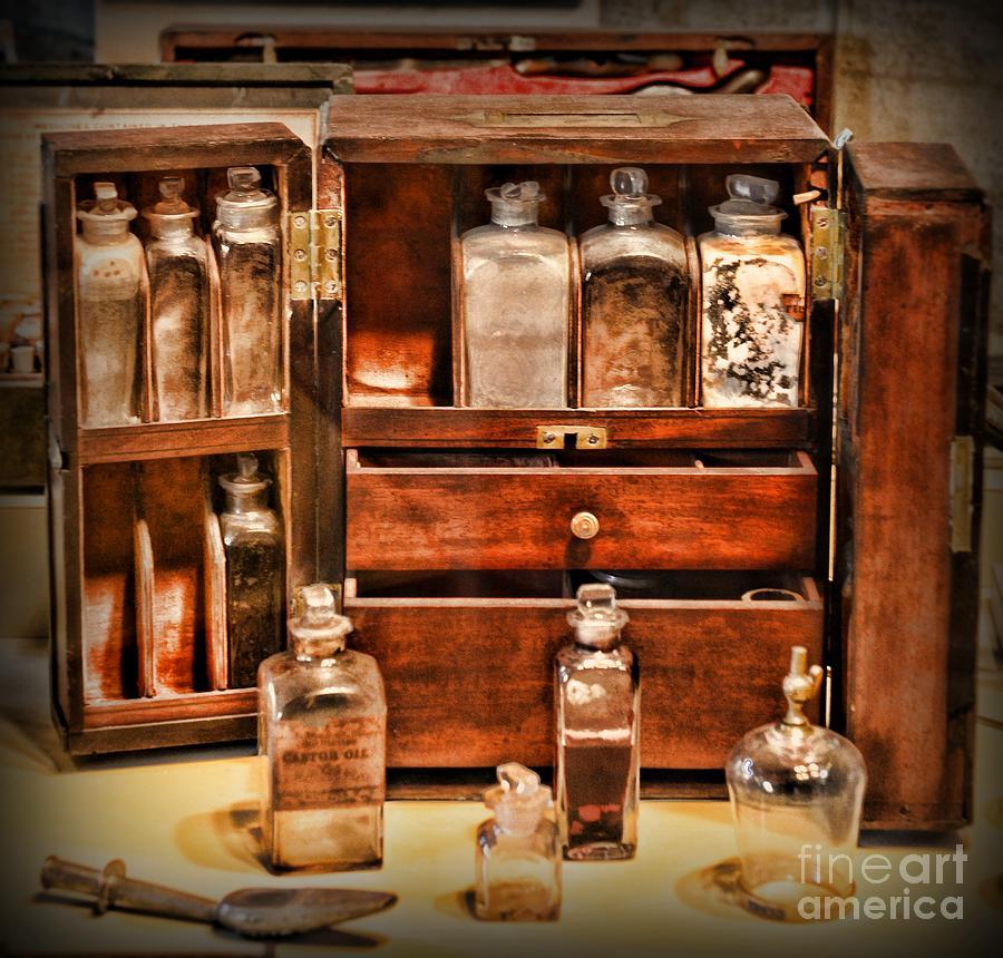 Paul Ward Photograph - Doctor - The Medicine Cabinet by Paul Ward - Doctor - The Medicine Cabinet Photograph By Paul Ward
