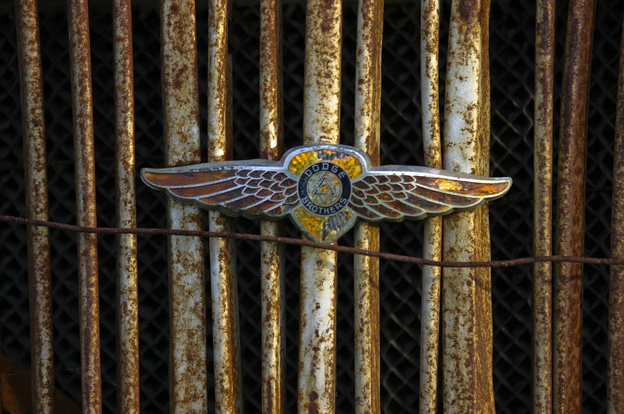 Dodge Brother Emblem Photograph by Penny  Ryan