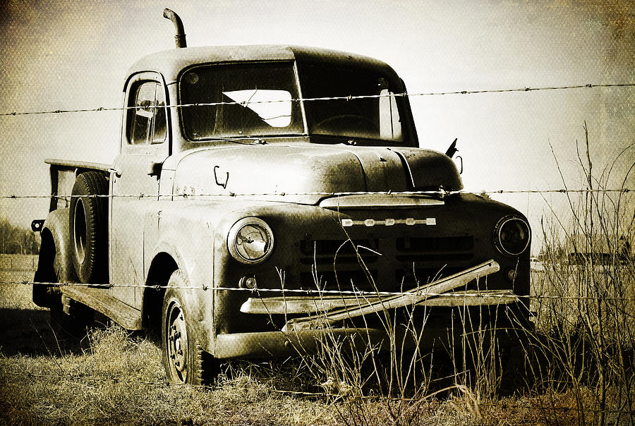 Truck Photograph - Dodging The Wires  by The Artist Project