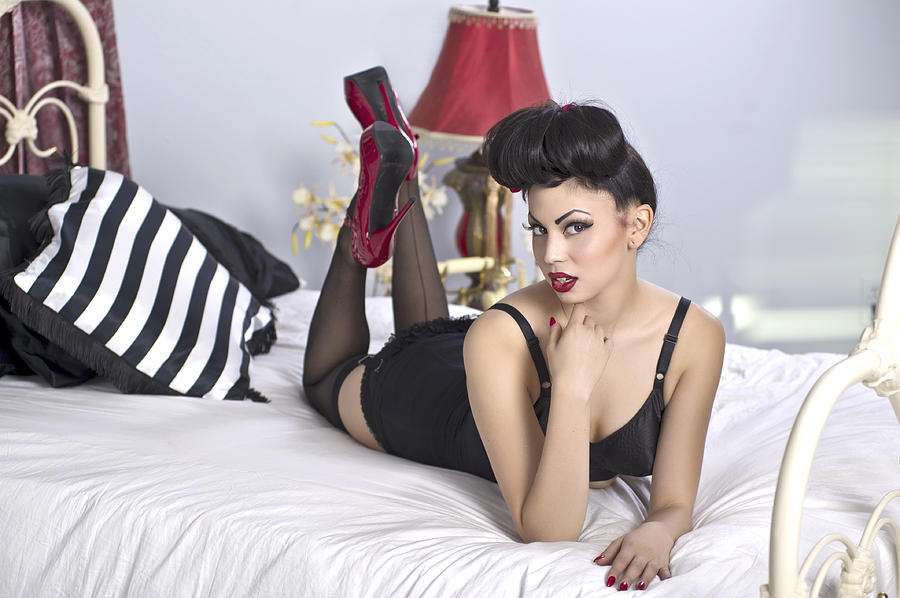 Pinup Photograph - Does Eyes by Bobby Deal