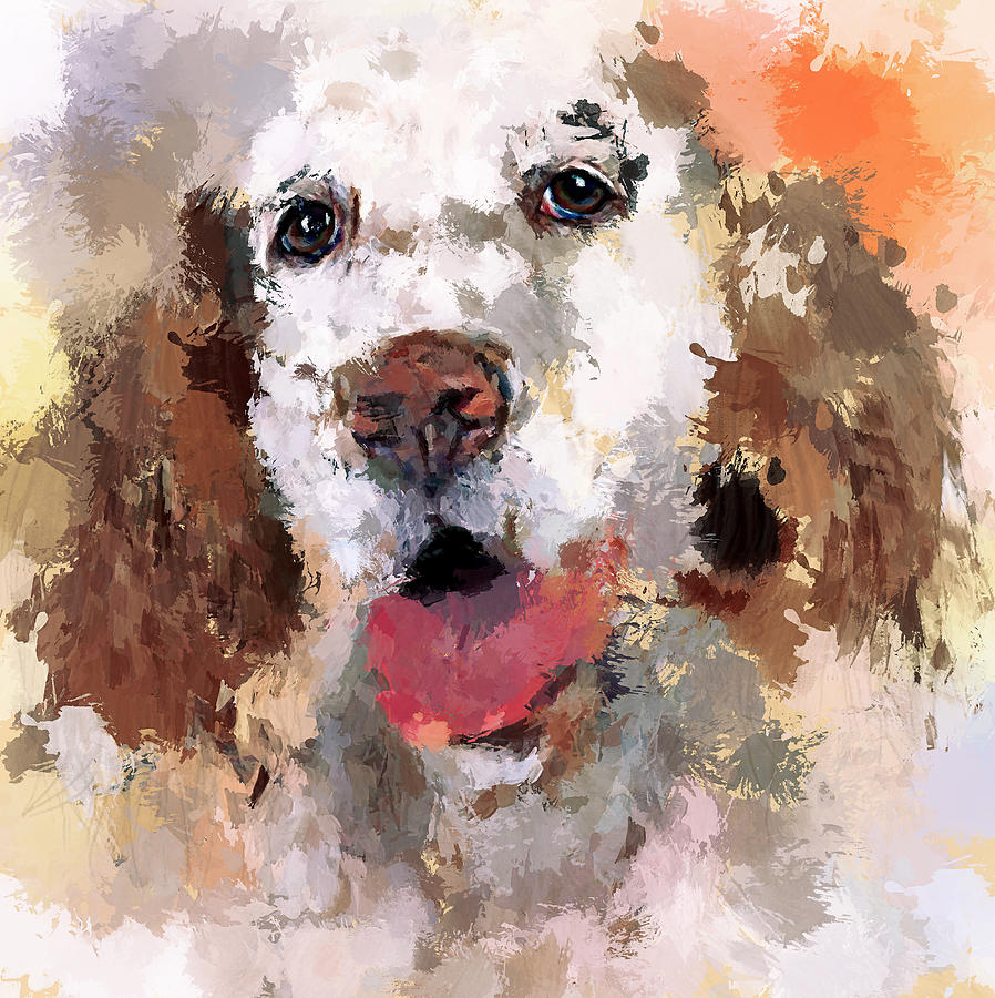 Dog Digital Art - Dog Pet by Yury Malkov