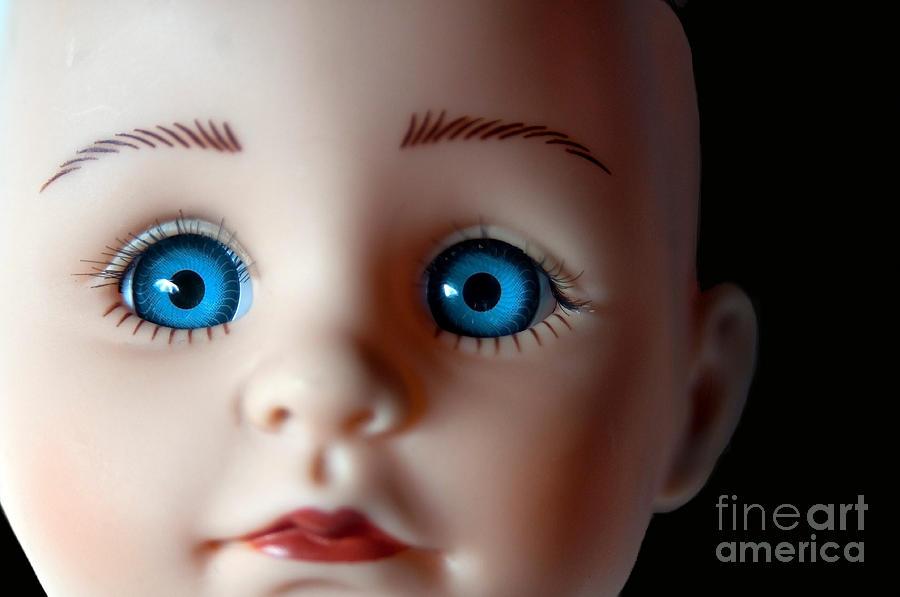 Doll Photograph - Doll Eyes by Dan Holm