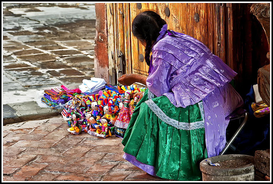Woman Photograph - Dolls For Sale by Javier Barras
