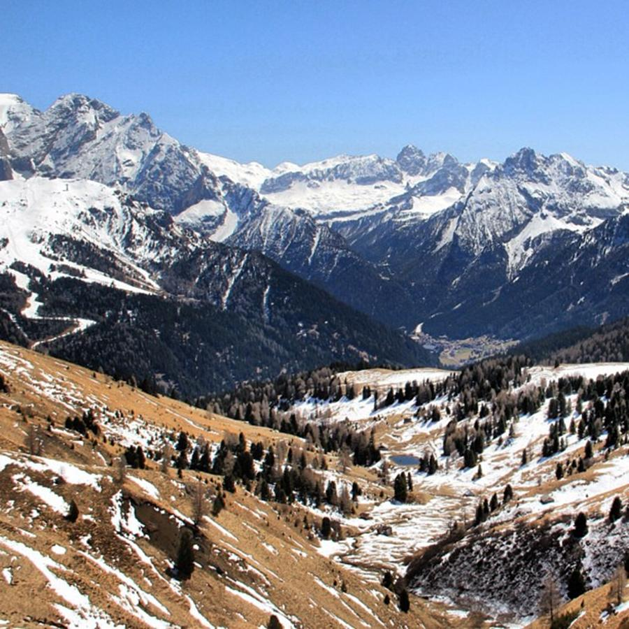 Dolomites Photograph - Dolomites landscape by Luisa Azzolini