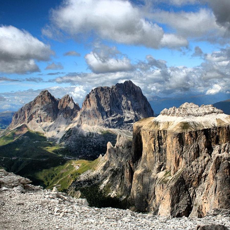 Dolomites Photograph - Dolomites by Luisa Azzolini