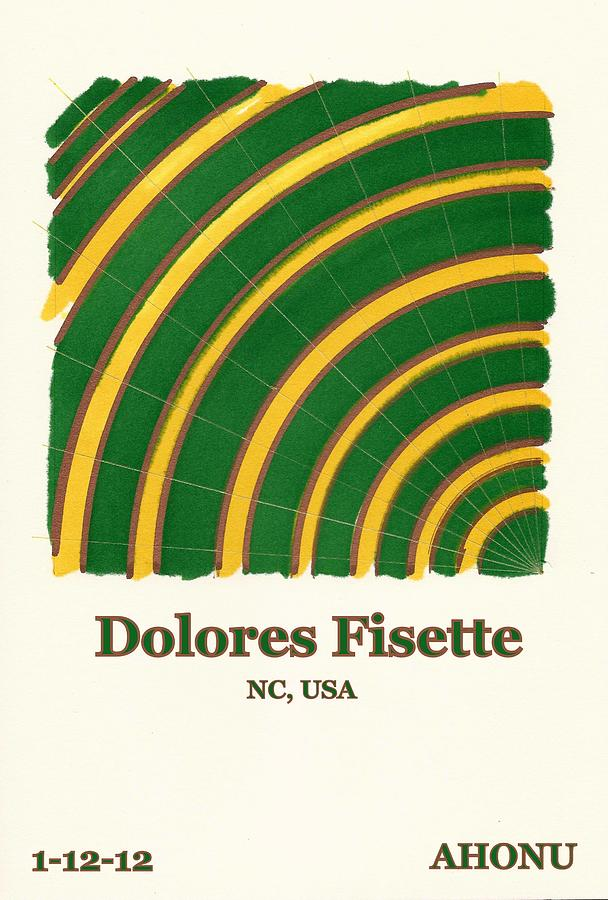 Ancestral Healing Painting - Dolores Fisette by Ahonu