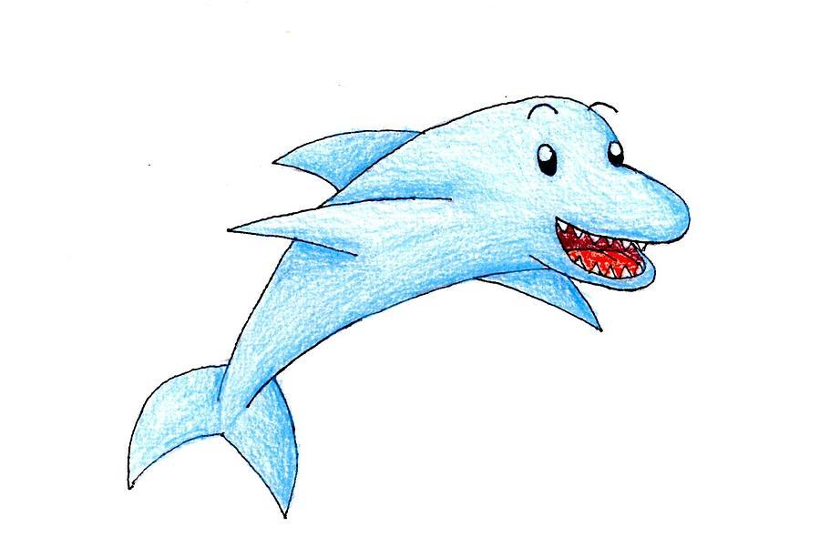 Dolphin by Jayson Halberstadt