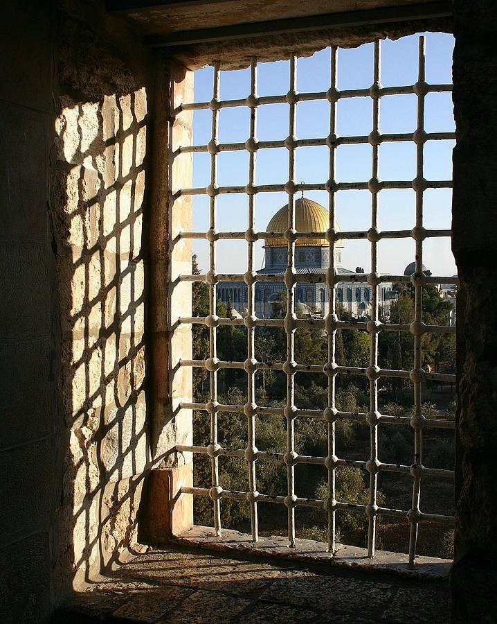 Travel Photograph - Dome Of The Rock by Tia Anderson-Esguerra