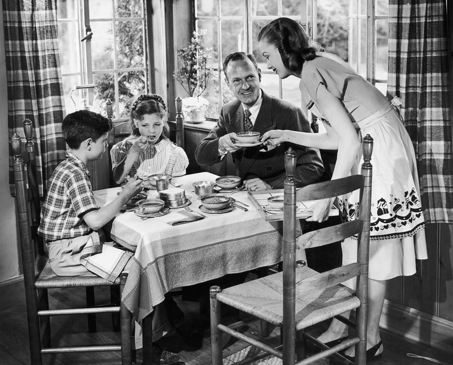 Child Photograph - Domestic Bliss by A E French