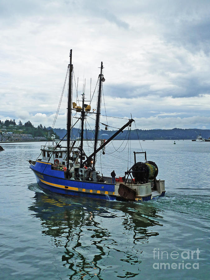 Boat Photograph - Done For The Day by Methune Hively